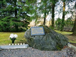 P. Stradiņa piemiņas akmens