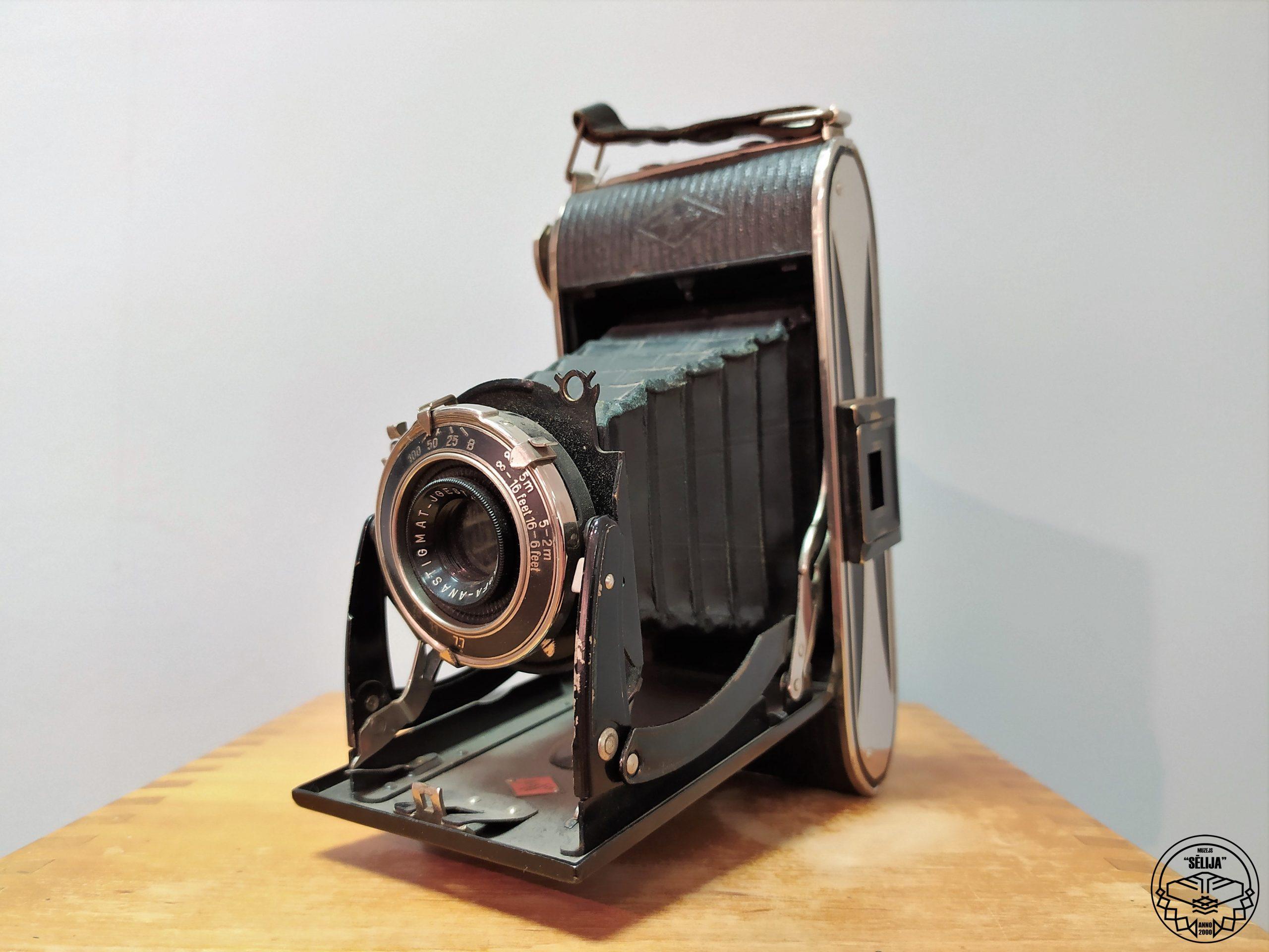 """Fotoaparāts """"Agfa"""", 1925. gads"""