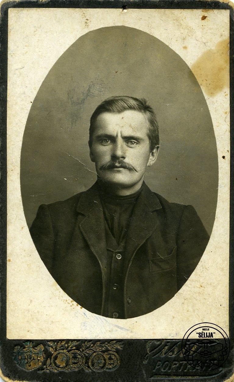 Jānis Rudzāns (1888-1919). Fotgrāfs I. Kiuliņš Subatē.
